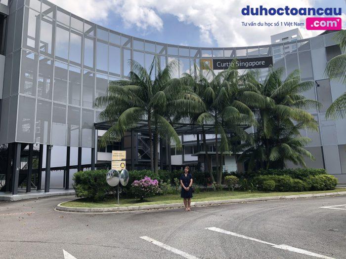 đại diện Duhoctoancau.com - ASCI đến thăm và làm việc tại Curtin Singapore