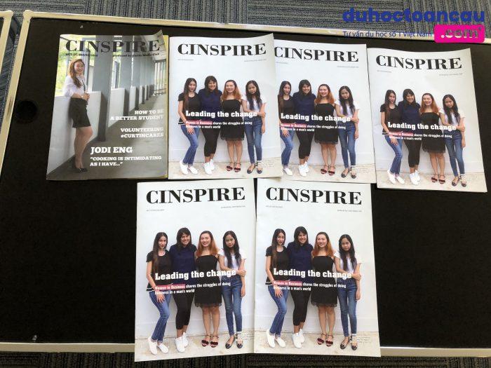 Sản phẩm của sinh viên học báo chí + truyền thông tại Curtin Singapore